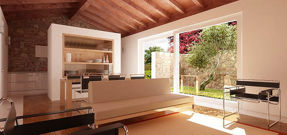Architetto d 39 interni in brescia felice zambelli for Progetti architettura interni